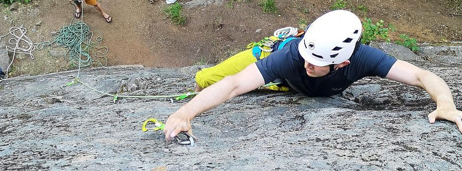 Kalliokiipeilyä