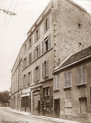 348 rue de Vaugirard face rue Eugène Gi