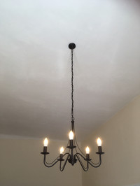 Light fitting replacement - Chandelier.J