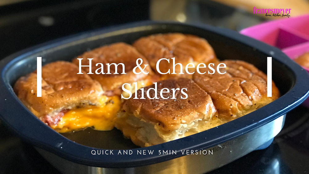 Ham & Cheese sliders in the MicroPro Grill