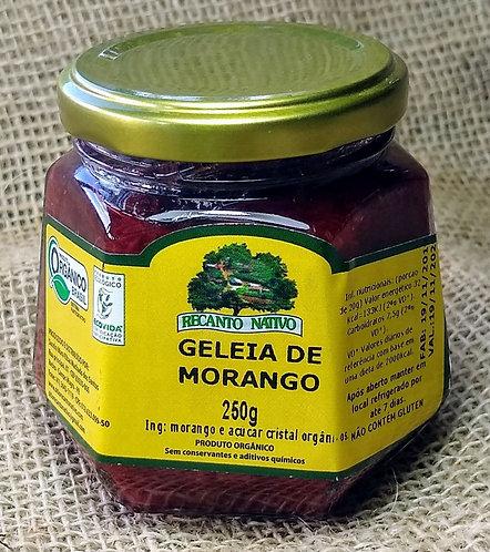Geleia de morango orgânica(250g)