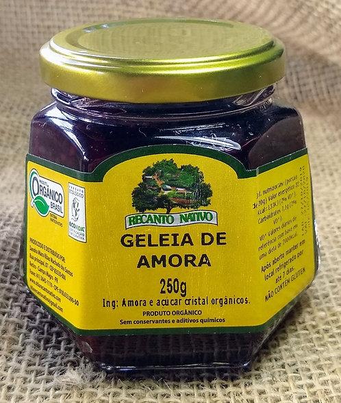 Geleia de amora orgânica (250g)