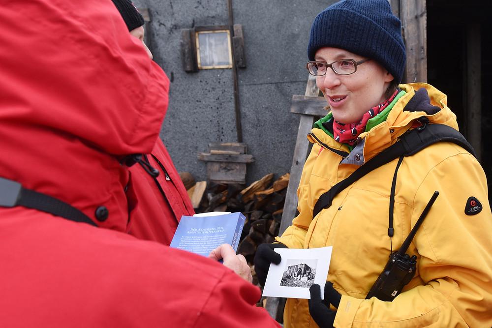 Sandra Walser, arctic, polar history, expedition guide, expedition guide academy, expedition guide training, arctic history, svalbard