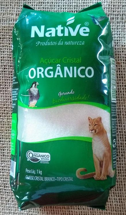 Açúcar cristal orgânico (1kg)