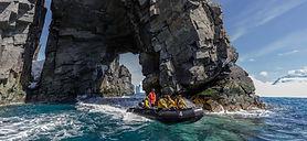 zodiac, small boat, training, zodiac driving, zodiac driver, polar guide training
