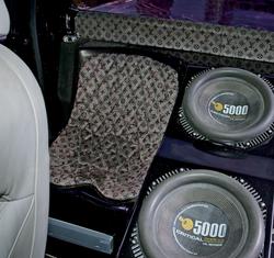 Critical MASS audio Truck UL12 Amplifiers Components inside