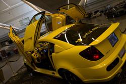 yellow show car ext