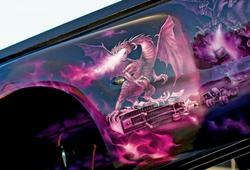 Critical MASS audio Truck UL12 Amplifiers Components close up 2