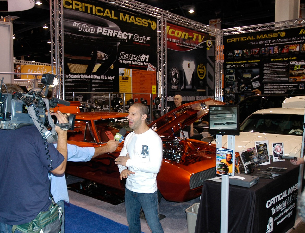 FORMULA1 SHOW ICON CRITICAL MASS AUDIO SEMA SHOW