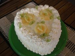 Sokeriton kakku