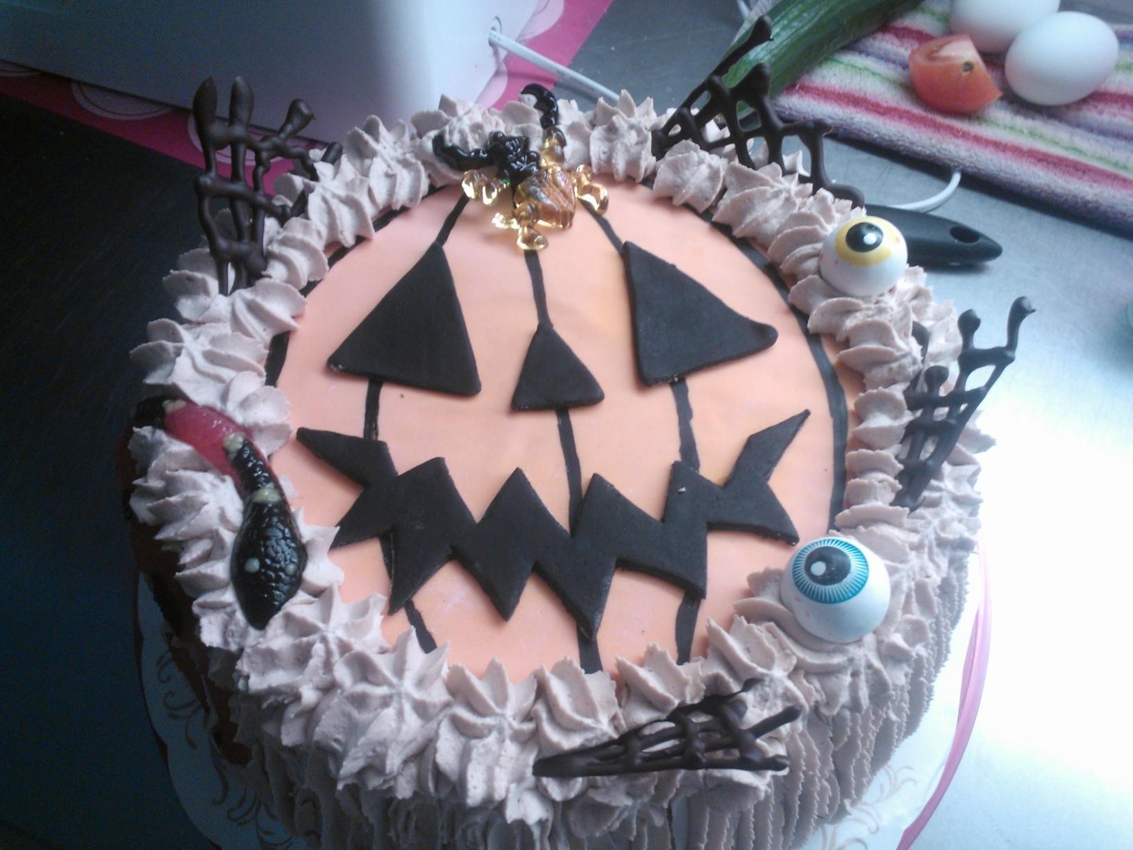 Halloween kaakku