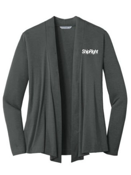 Ship Right Solutions Ladies Concept Open Cardigan