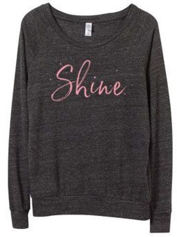 Shine Hair Salon Slouchy Pullover