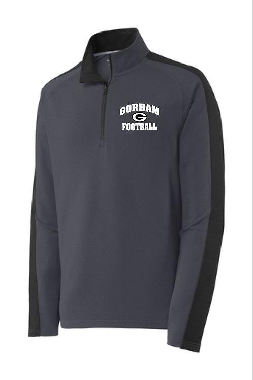 Gorham Football Colorblock Quarter Zip