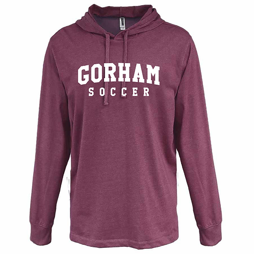 Gorham Soccer Heather Jersey Hoody