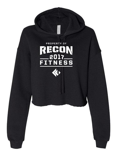 Recon Fitness Ladies Crop Top Hoody