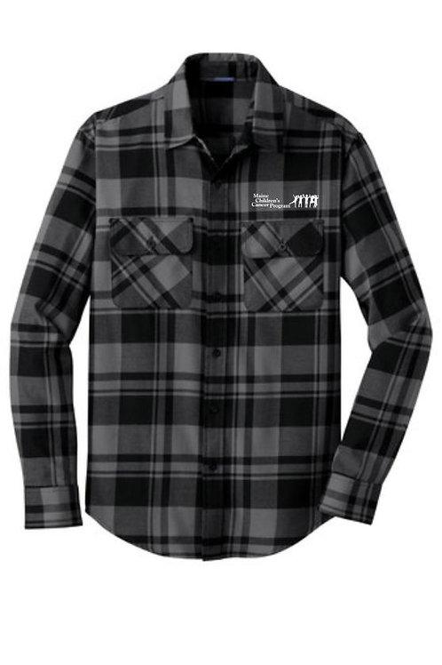 Maine Children's Cancer Flannel Shirt