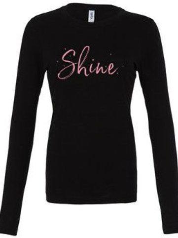 Shine Hair Salon Ladies Jersey Long Sleeve T-Shirt