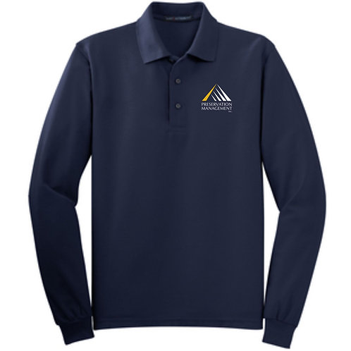 Preservation Management Long Sleeved Polo