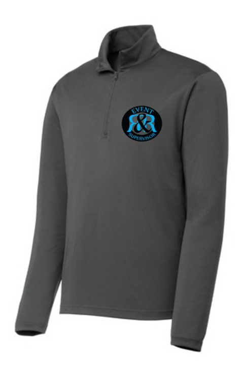 R&R SECURITY MEN'S QUARTER ZIP