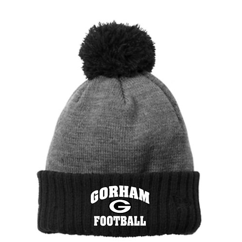 Gorham Football Colorblock Cuffed Beanie