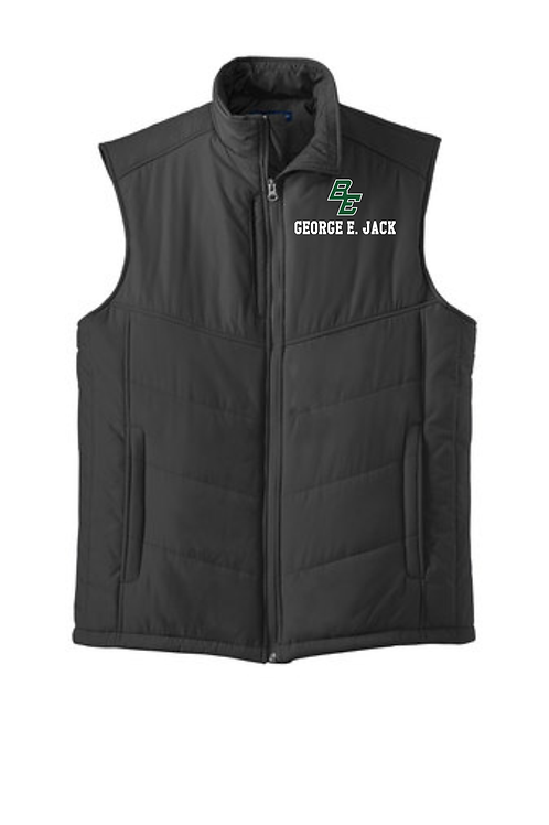 George E Jack Puffy Vest