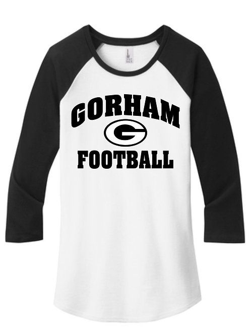 Gorham Football Women's Baseball T