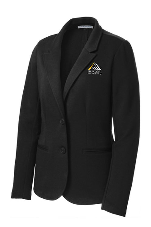 Preservation Management Ladies Knit Blazer