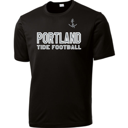 Portland Tide Football Performance Short Sleeve T