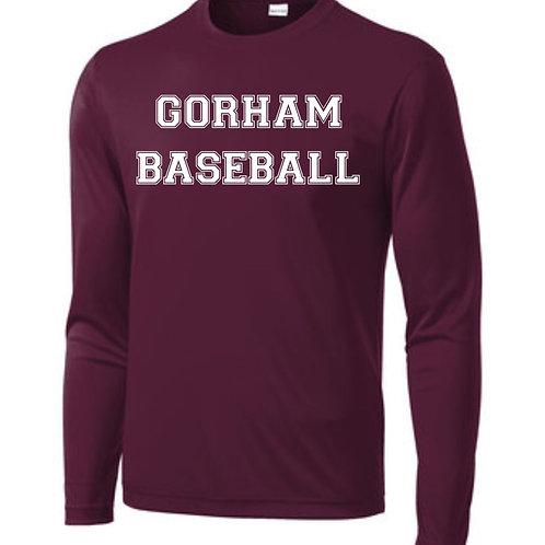 Gorham Little League Long Sleeve Tech T