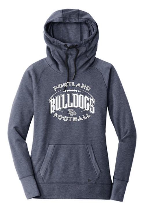 Portland High Football Ladies Cowl Neck Hoody