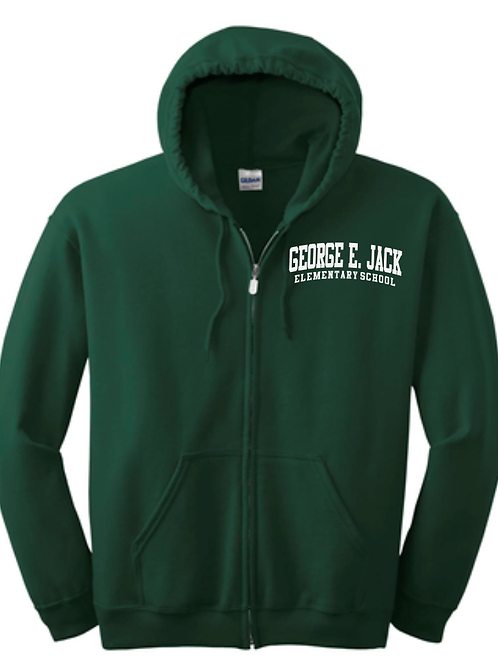 George E Jack Full Zip Sweatshirt
