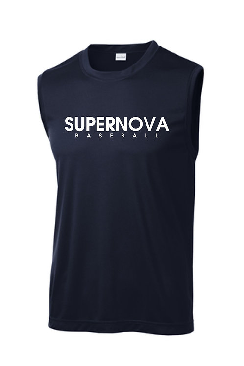 Supernova Baseball Sleeveless Dryfit T-shirt