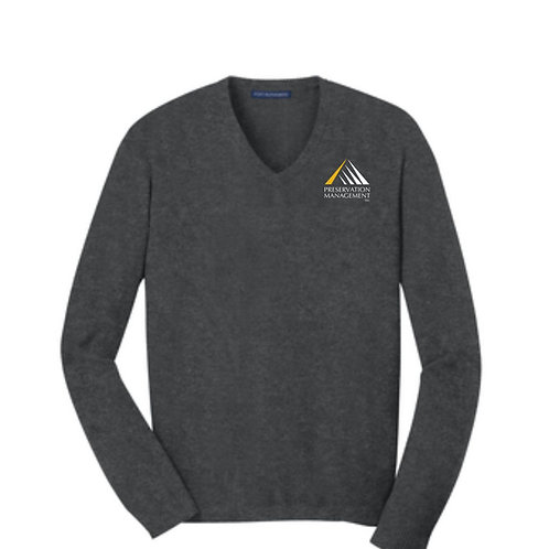 Preservation Management Women's V-neck Sweater
