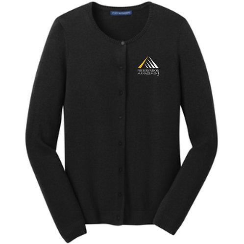 Preservation Management Ladies Cardigan Sweater