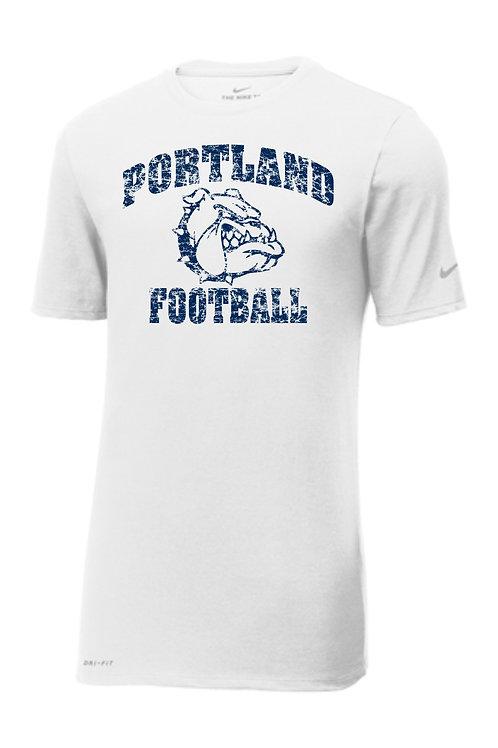 Portland Football Nike Distressed T