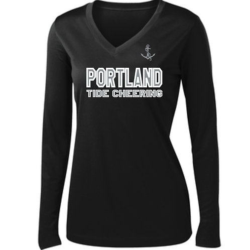 PYFL Cheering Women's Performance Long Sleeve T