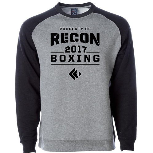 Recon Fitness Boxing Crewneck Sweatshirt