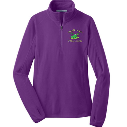 Leap N Learn 1/4 Zip Fleece