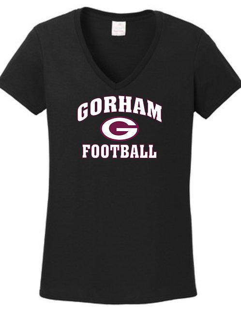 Gorham Football Vneck T-shirt