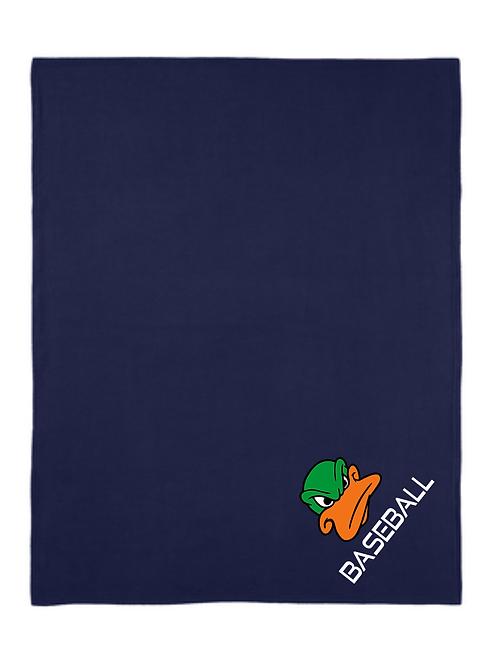 Presumpscot Ducks Fleece Blanket w/carry strap