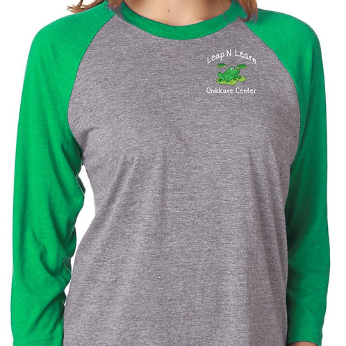 Leap N Learn Women's 3/4 sleeve shirt