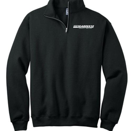 Seabreeze Cadet Collar Quarter Zip Sweatshirt