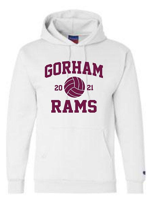 Gorham Volleyball Cotton Hoody