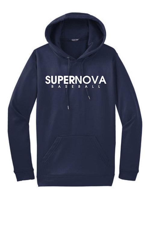 Supernova Baseball Sportwick Fleece Hoody