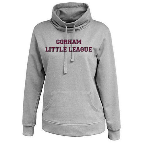 Gorham Little League Women's Cowl Neck Hoody