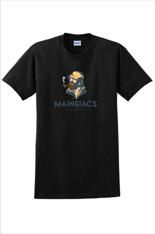 Maineiacs Cornhole Cotton T-Shirt