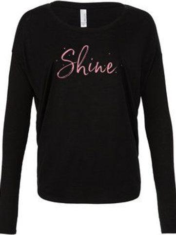 Shine Hair Salon Flowy Long Sleeve T-shirt