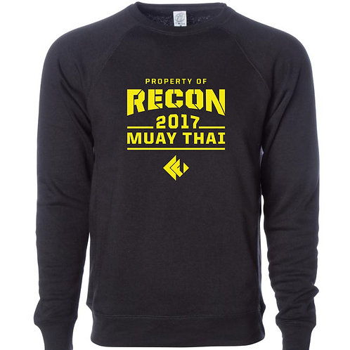 Recon Fitness Muay Thai Crewneck Sweatshirt