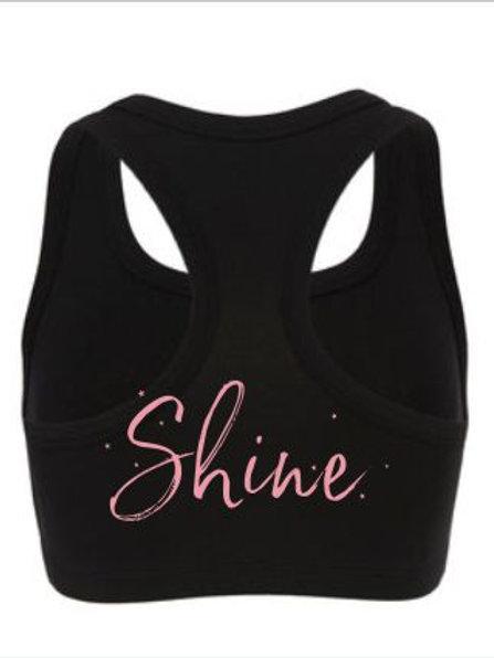 Shine Hair Salon Sports Bra